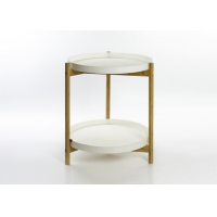 PP Top 5KG 45cm Diameter Round Side Table Manufactures