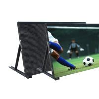 Buy cheap High Contrast Ratio Football Perimeter LED Display 360W 1920Hz Refresh Rate from wholesalers