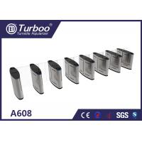304 Stainless Steel Turnstile Security Products 35-40 Persons / Min Transit Speed
