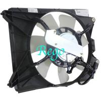 Quality 19030RSJE01-PFM HO3115159 Car Radiator Cooling Fan Assembly For 2012-2015 Honda Civic SD for sale