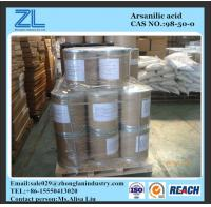 Arsanilic acid used in growing-finishing swine rations Manufactures