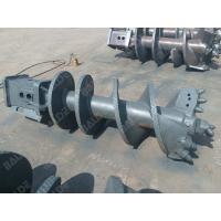 Tungsten Hydraulic Earth Auger For Tractor / Gearbox Hydraulic Earth Drill For Drilling Rig Parts Manufactures
