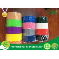 Multi Color Adhesive Cloth Duct Tape For Masking / Decoration Manufactures