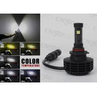 360 Light Beam LED Headlight Kit 6000LM 9005 Auto Led Lights Manufactures