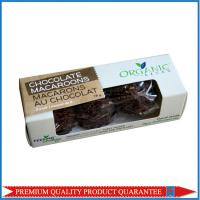 Black Chocolate Packaging Box Food Grade Paper Box with Clear Plastic Window Manufactures