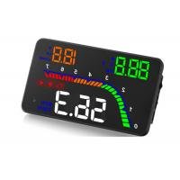 RPM Alarm Vehicle Heads Up Display T100 4 Inch Multi - Function Customized Manufactures