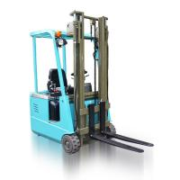 Portable LP Gas Engine Three Wheel Electric Forklift Counterbalance Lift Truck Manufactures
