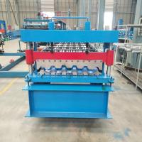 IT4 IBR Roofing Sheet Panels Roll Forming Machine 80CM/90CM  with PLC control Manufactures