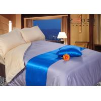 Hotel Collection Bedding Set Grey Color 300TC Silky Material  Linen Manufactures