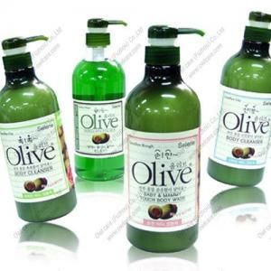 250ml OEM Olive Oil Shower Gel Brand Manufactures
