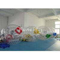 Customized Inflatable Zorb Ball For Wonderful Color With PVC/TPU Material Manufactures