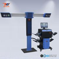 Diagnostic Car Workshop 3D Wheel Alignment Balance Machine With CE ISO Certificate Manufactures