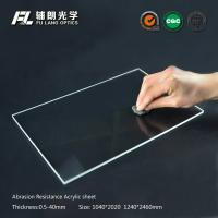 China Robot partitions with abrasion resistant acrylic sheet for aluminum extrusion on sale