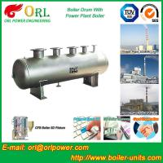 Solar Boiler Mud Drum , High Pressure Drum TUV Certification For Power Station Manufactures