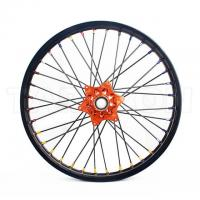 KTM Black Custom Aluminum Motorcycle Wheels Rims For Dirt Bike Manufactures