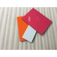 Anti - Static PVDF Aluminum Composite Panel Products , Aluminium Coated Panels Manufactures