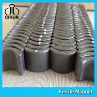 Industrial Ferrite Arc Magnet For PMSM Motor ROHS SGS ISO9001 Certification Manufactures