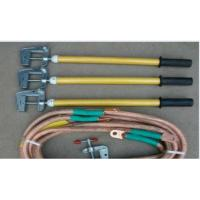 China 35KV Voltage Electric Security Tools Copper Ground Rod JDX With Earth Clamp on sale