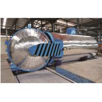 Rubber Vulcanizing Chemical Autoclave with safety interlock Manufactures