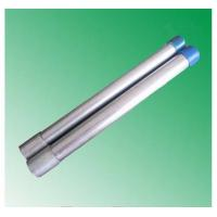 hot dipped galvanized steel pipe threading with socket made in China market factory mill Manufactures