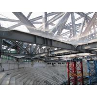 GYM Center Building Steel Frame I Section Environment Friendly Manufactures