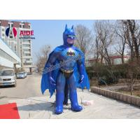 5M High Batman Inflatable Cartoon Characters With Blower For Trede Show Advertising Manufactures
