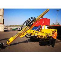 JC358A Down Hole Rock Drilling Rig Crawler Hydraulic Drill Rig For Power Station Manufactures