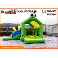 Buy cheap Customized Inflatable Game Bounce House Commercial / Inflatable Castle from wholesalers