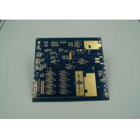 Blue Thick Gold Multilayer PCB Board UL 94 V 0 Flamibility Grade Tg 170 Manufactures