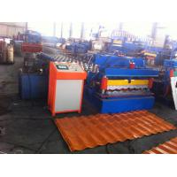 Hydraulic Control Glazed Tile Roll Forming Machine For Construction Metal Making Manufactures