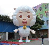 Quality Event Display Inflatable Advertising Products 3.5m Height Pleasant Sheep for sale