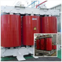 Quality Cast Resin Low Rated / Low Voltage Distribution Transformer 32 KVA Red Color for sale