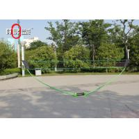 Outdoor Badminton Easy Set With Freestanding Base Lightweight  Customized Color Manufactures