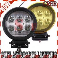 7INCH 60W CREE LED WORK LIGHT FOG LIGHT FOR OFFROAD MACHINERY 4WD ATV SUV Driving Light Manufactures