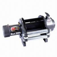Buy cheap 20000lbs heavy-duty electric truck winch from wholesalers