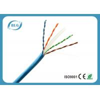 China 8 Cores Cat6 Shielded Ethernet Cable , Outdoor Cat6 Cable 1000 FT Eco Friendly on sale