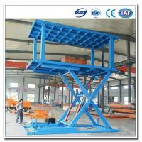 Scissor Type  Garage Car Stacking System / Auto Parking System/Car Underground Lift/Underground Garage Lift Manufactures
