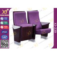 Buy cheap Commercial Furniture Multiplex Church Auditorium Seating Polywood + Foam Inner from wholesalers