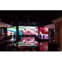 Quality 80mm Super Slim LED Display P3.91 HD Video Wall With High Resolution 64*64 Pixels for sale