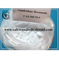 Raw Testosterone Powder Muscle Building Steroids Nandrolone Decanoate Steroids CAS 360-70-3 Manufactures