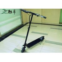 Black Flexible Innovative Boys And Girls Cool 350W Electric Mirco Stunt Scooter Manufactures