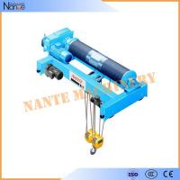 Industrial Quadrate Electric Wire Rope Hoist Standard Low Headroom Trolley Hoist Manufactures