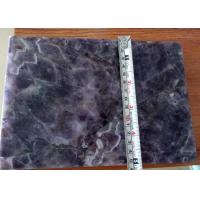 Natural Amethyst Semi Precious Stone Slabs For Countertop Decoration Manufactures