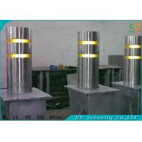 Statiion Access Control Retractable Bollards / Automatic Rising Bollards Manufactures