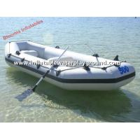 Giant 8 Person Motorized Inflatable Raft Fishing Boat / Heavy Duty Inflatable Raft Manufactures