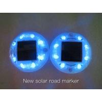 Quality Solar Road Stud 8pcs LED Chip ASD-010 Solar Road Marker Solar Cat Eye Lights for sale