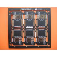 Four Layer Black Solder FR4 Multilayer PCB Manufacturer for SD Card , OEM and Customized Manufactures