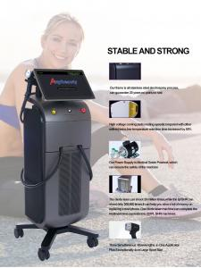 FDA Stationary Q Switch 808 Diode Laser Hair Removal Machine Manufactures