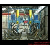 LHA 4000mm H Beam Gantry Type Automatic  Welding Machine With Saw Welder Manufactures