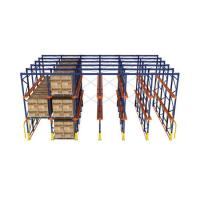 China Powder Coated Industrial Storage Rack / Steel Longspan Racking With Medium Duty on sale